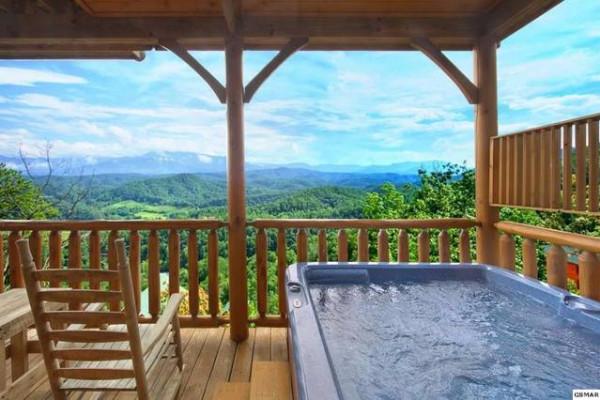 Hot Tub & View