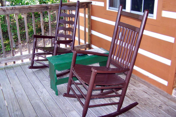 Rocking Chairs on Deck