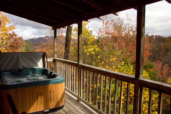 Hot Tub, Deck & Views