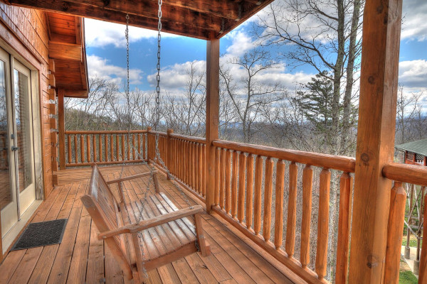 Porch Swing & Views