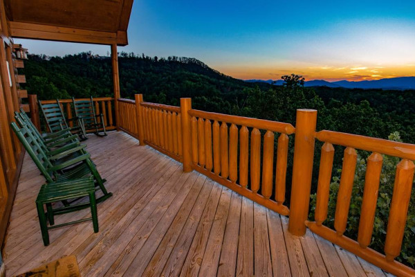 Sunset Deck View