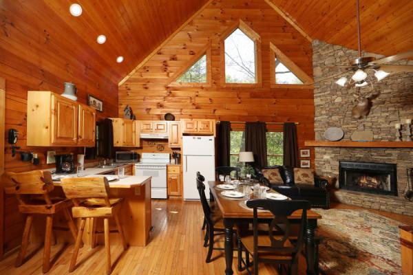 Dine Kitchen & Living Room