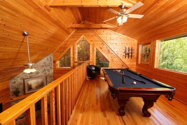 Loft & Billiard Room
