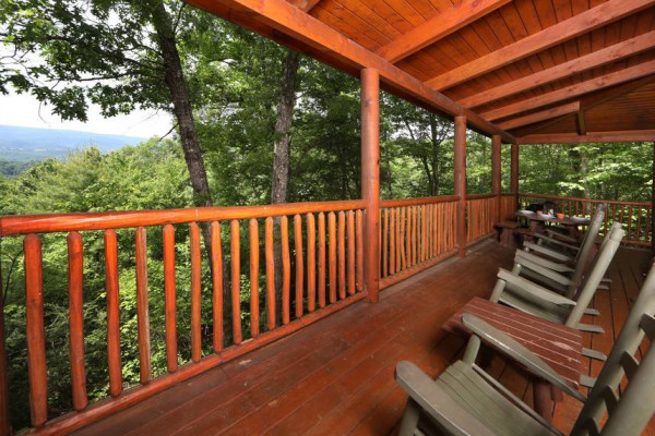 Covered Deck & Chairs