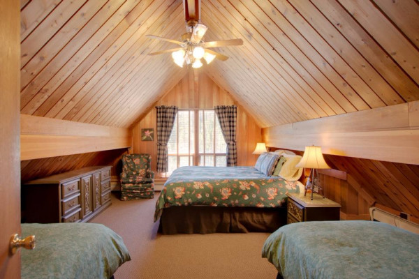 High Country Lodge Bedroom