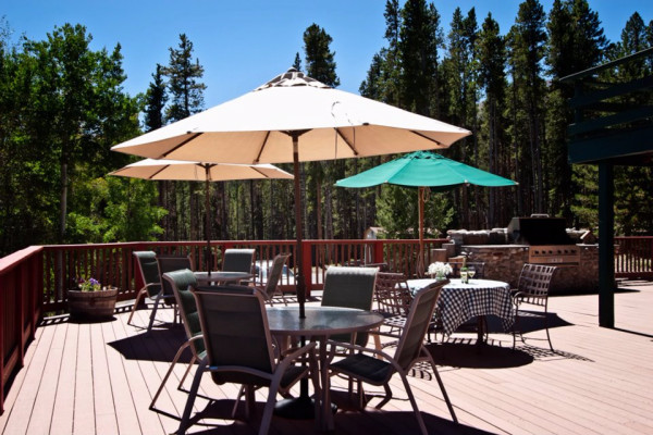 High Country Lodge Deck