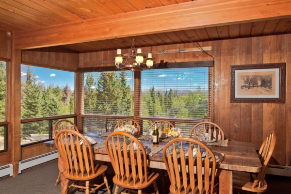 High Country Lodge Dining Room