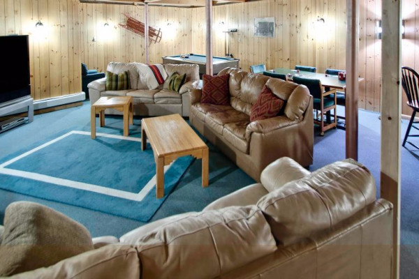 High Country Lodge Game Room