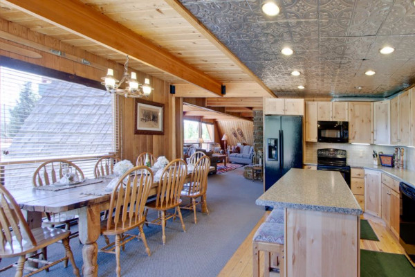 High Country Lodge Kitchen