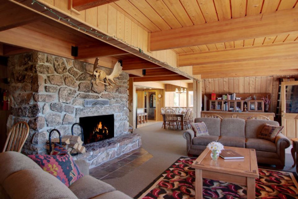 High Country Lodge Living Room