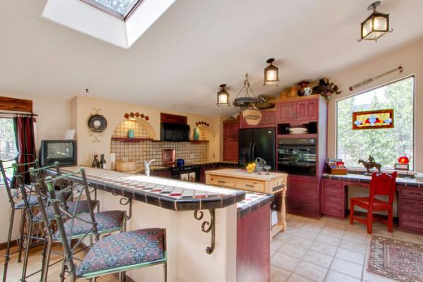High Country Hacienda - Kitchen