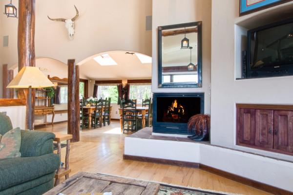 High Country Hacienda - Living Room