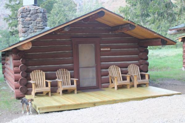 Wrangler Cabin - sleeps 5