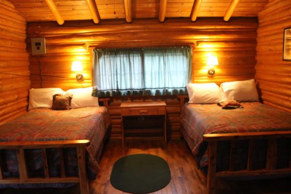 The Gambler Cabin Sleeps 4