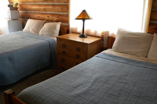 Cabin #5 beds