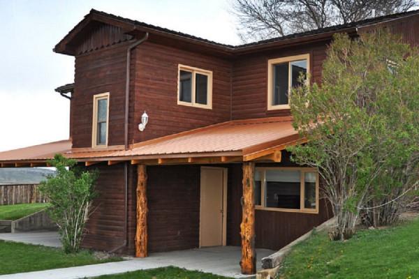 The Tri-plex Cabin Exterior