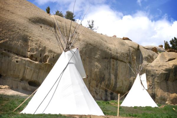 Tipi Encampment