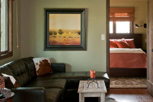 Upper Level Living Room to Bedroom