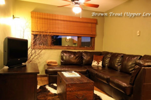 Upper Level Living room at Night