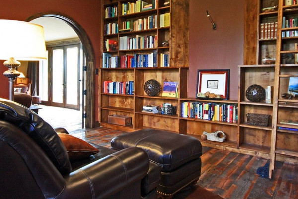 Sitting Room + Library