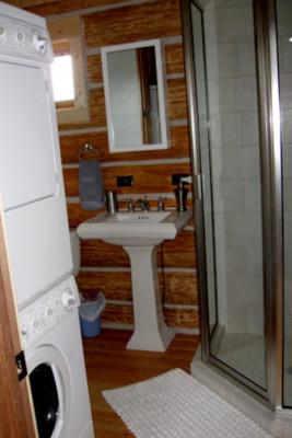 Bathroom + Washer/Dryer