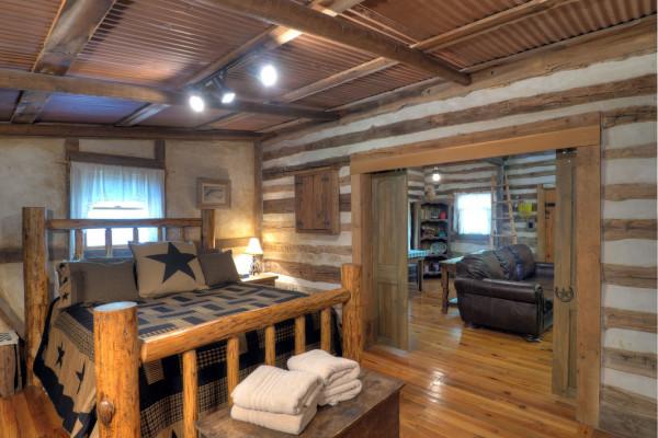 Bedroom into Living Room