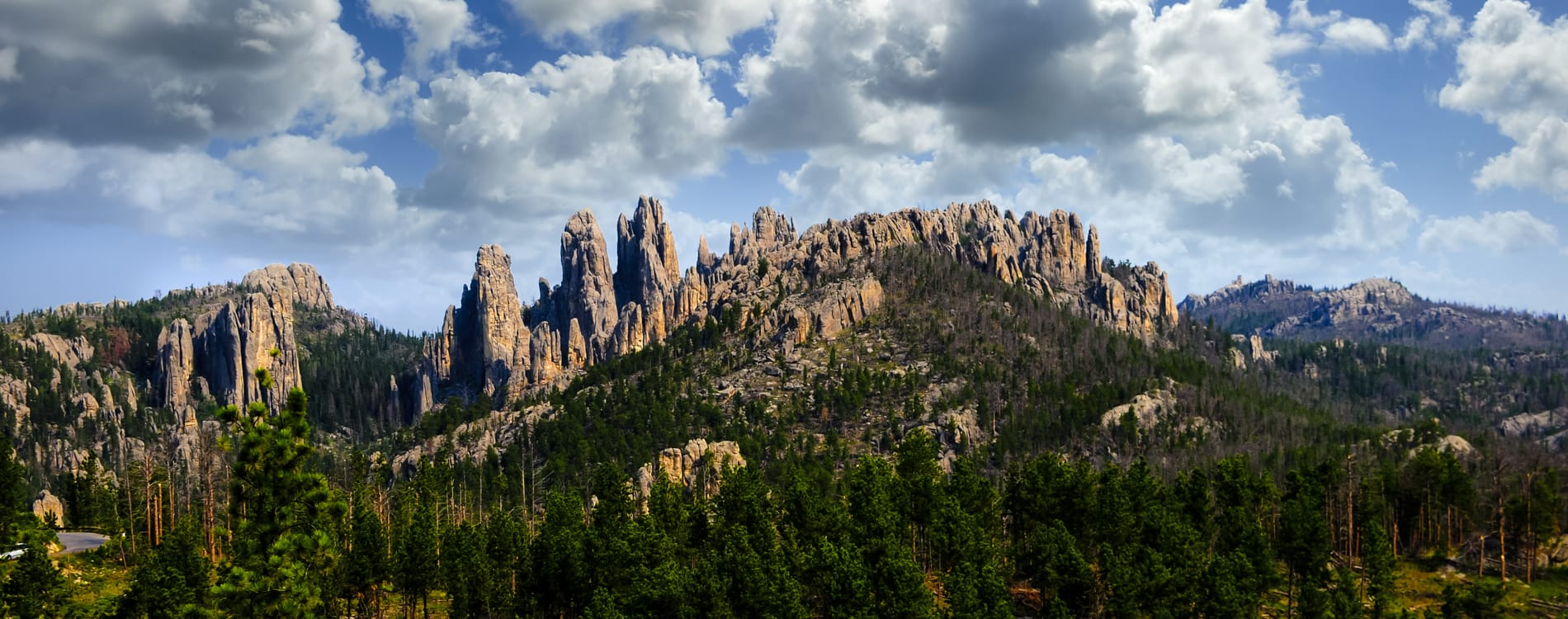 Black Hills - Pinnacles in Custer State Park