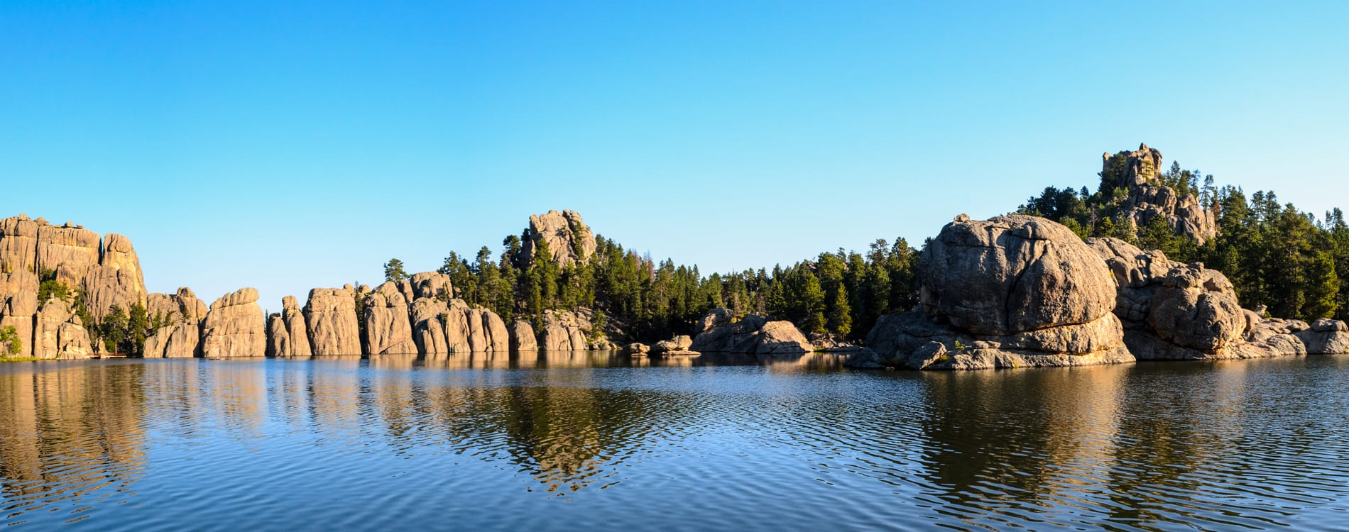 Black Hills - Sylvan Lake and Custer State Park