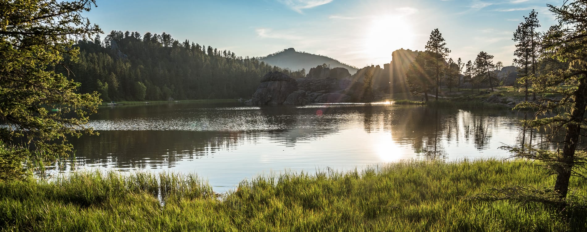Black Hills - Sylvan Lake at Sunset