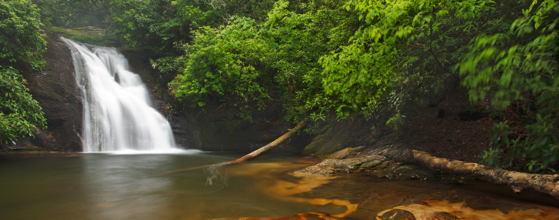 Helen, GA - Blue Hole Waterfall