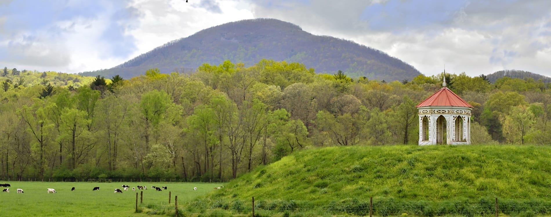 Helen, GA - Nacoochee Indian Mound