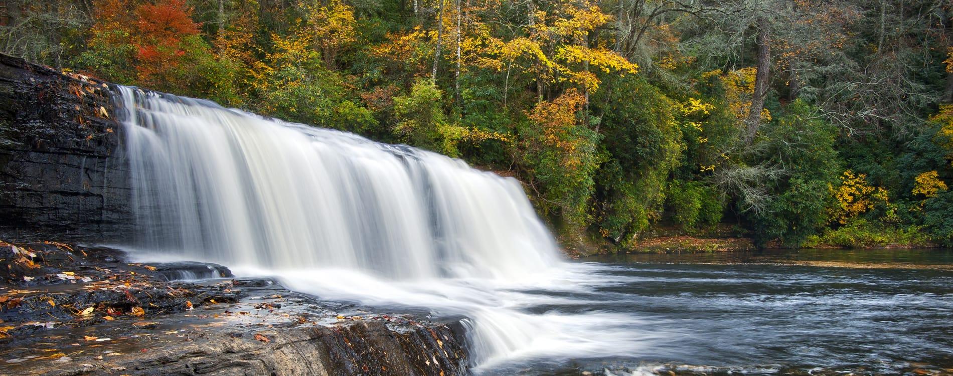 Asheville, NC - Hooker Falls DuPont State Park