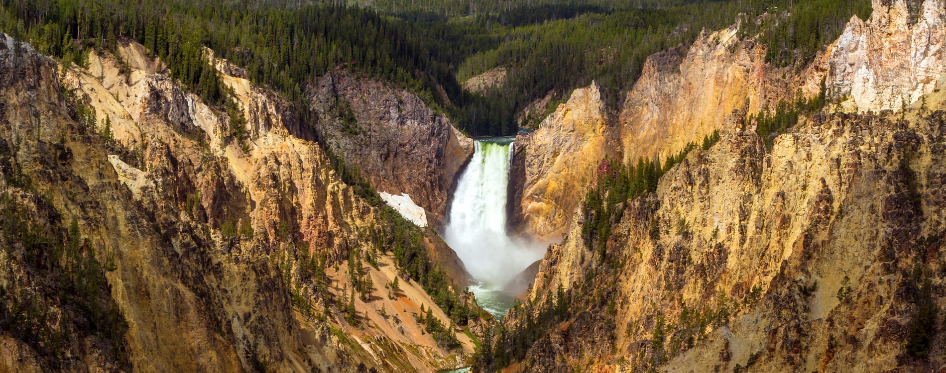 West Yellowstone - Grand Canyon of the Yellowstone River