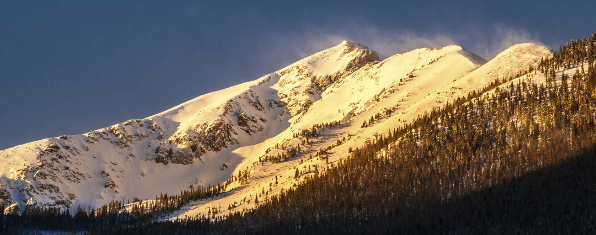 Breckenridge, CO - Rocky Mountain Sunrise