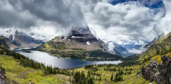 Glacier National Park - Hidden Lake Overlook
