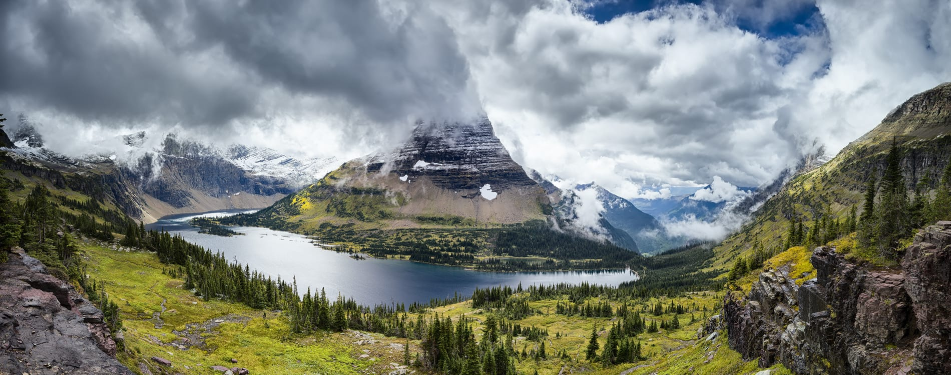 Glacier National Park - Hidden Lake Overlook