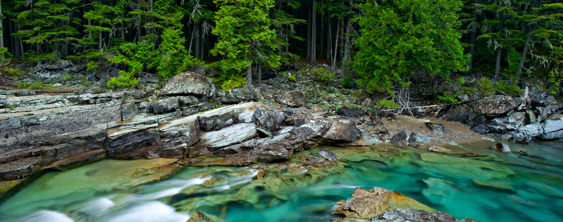 Glacier National Park - McDonald Creek