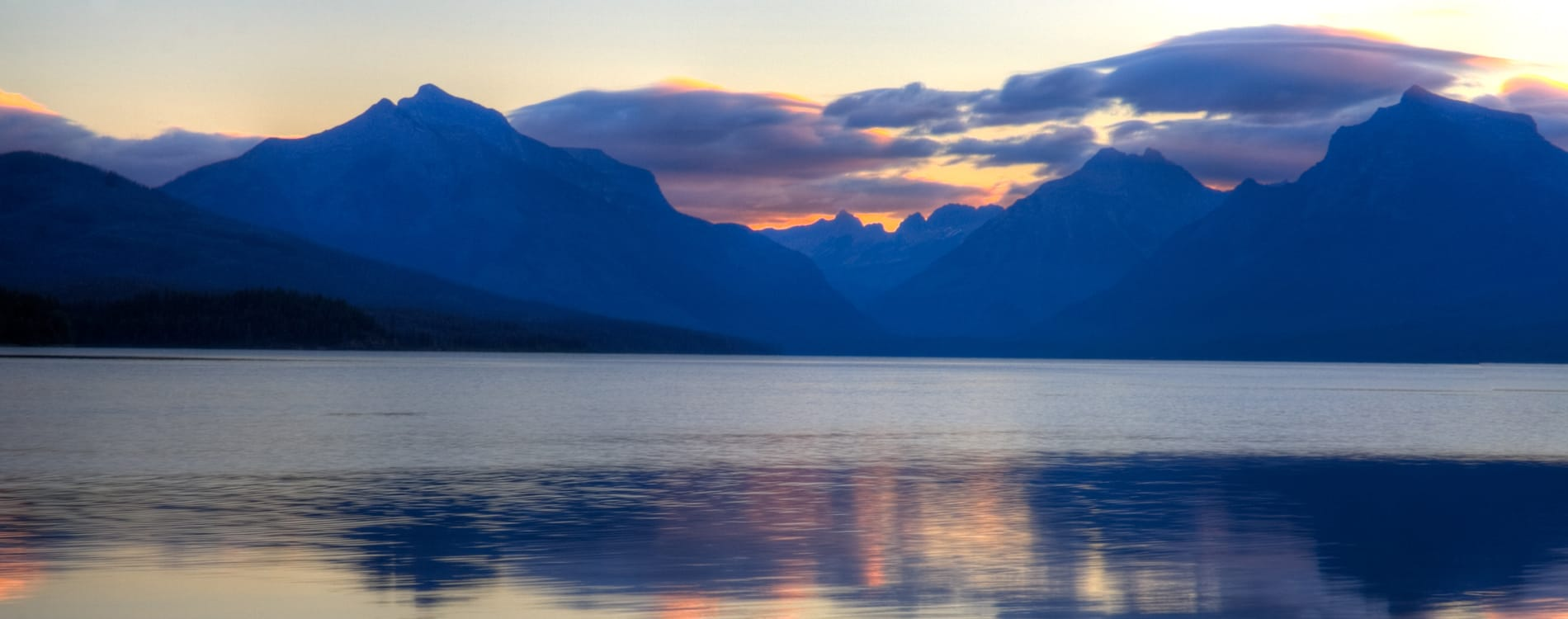 Glacier National Park - Sunrise on Lake McDonald