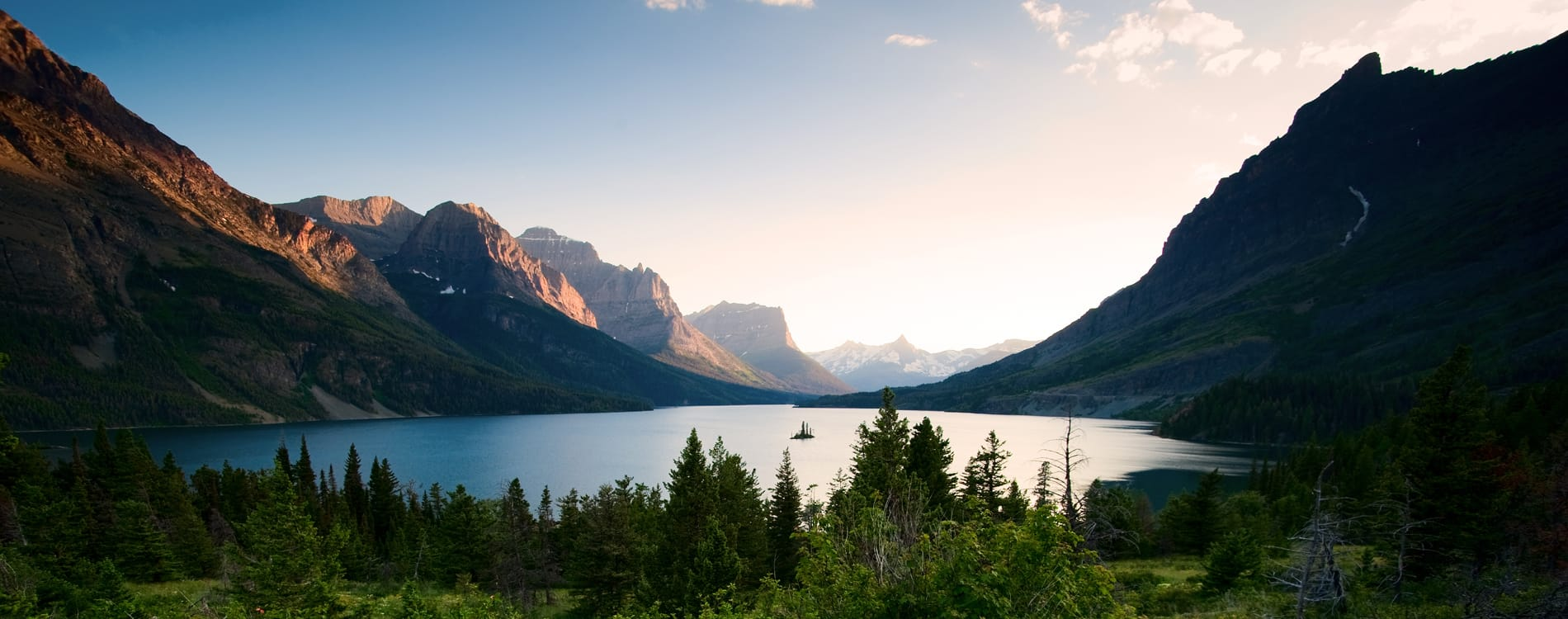 Glacier National Park - Wild Goose Island Saint Mary Lake