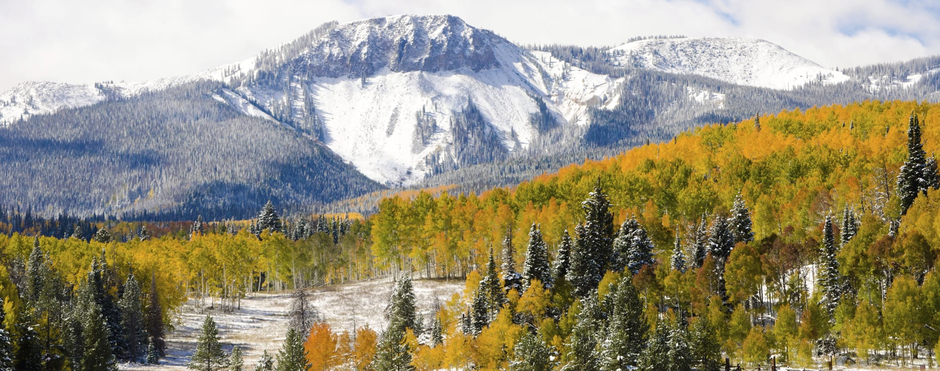 Steamboat Springs, CO - Autumn Snow