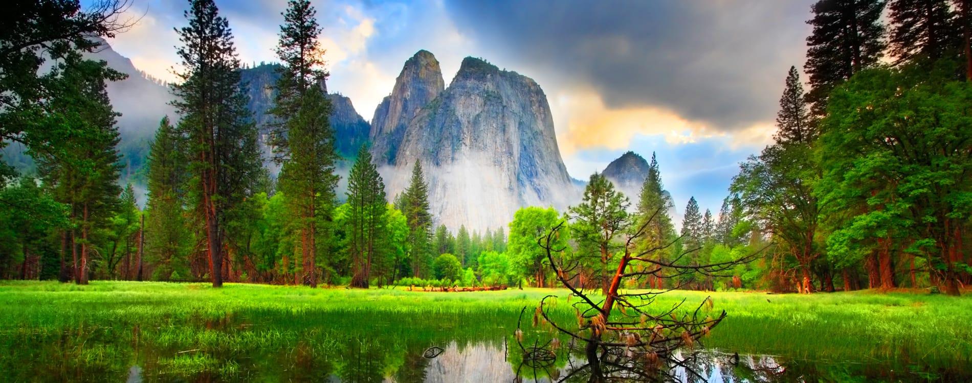 Yosemite National Park - Cathedral Rocks