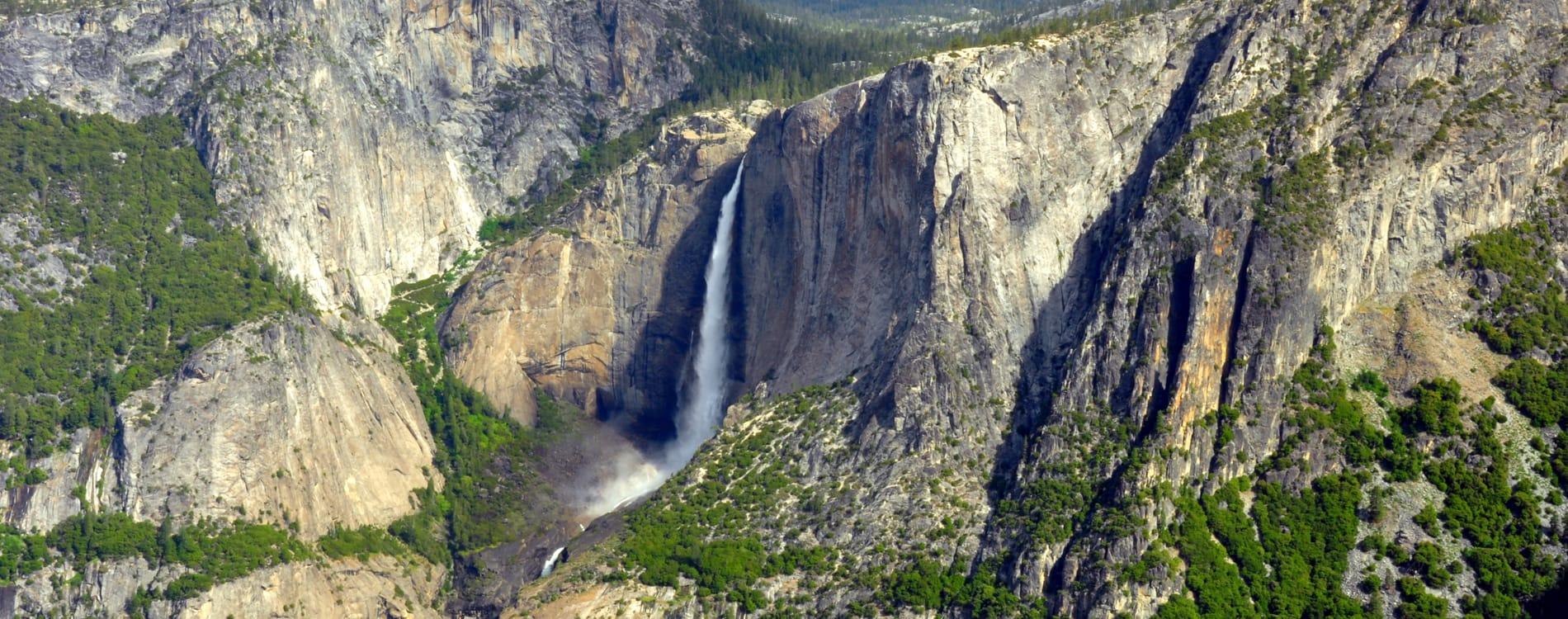 Yosemite National Park - Upper Yosemite Falls from Glacier Point