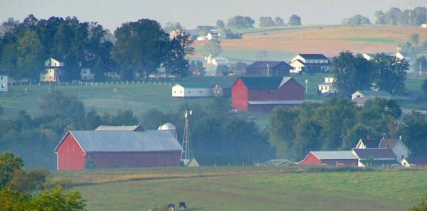 Amish Country, OH - Amish Farmland near Mount Eaton Ohio