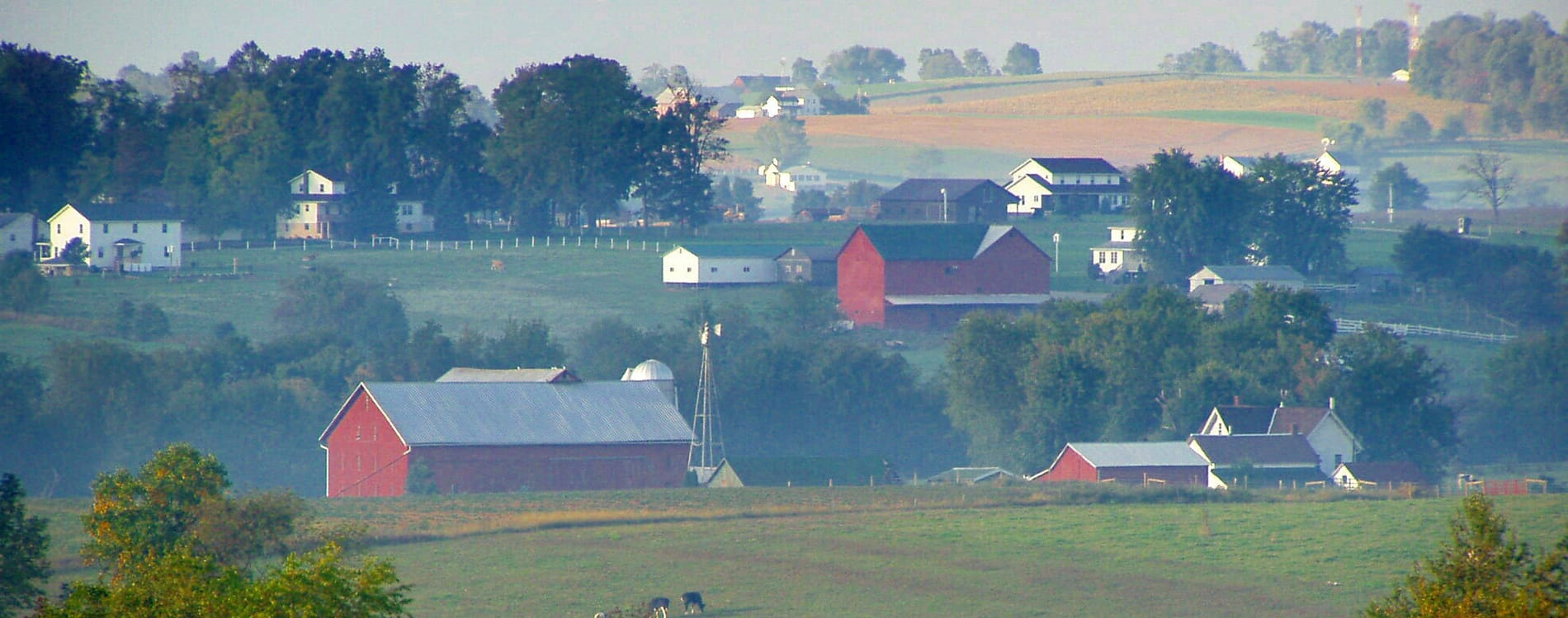 Amish Country, OH - Amish Farmland near Mount Eaton Ohio