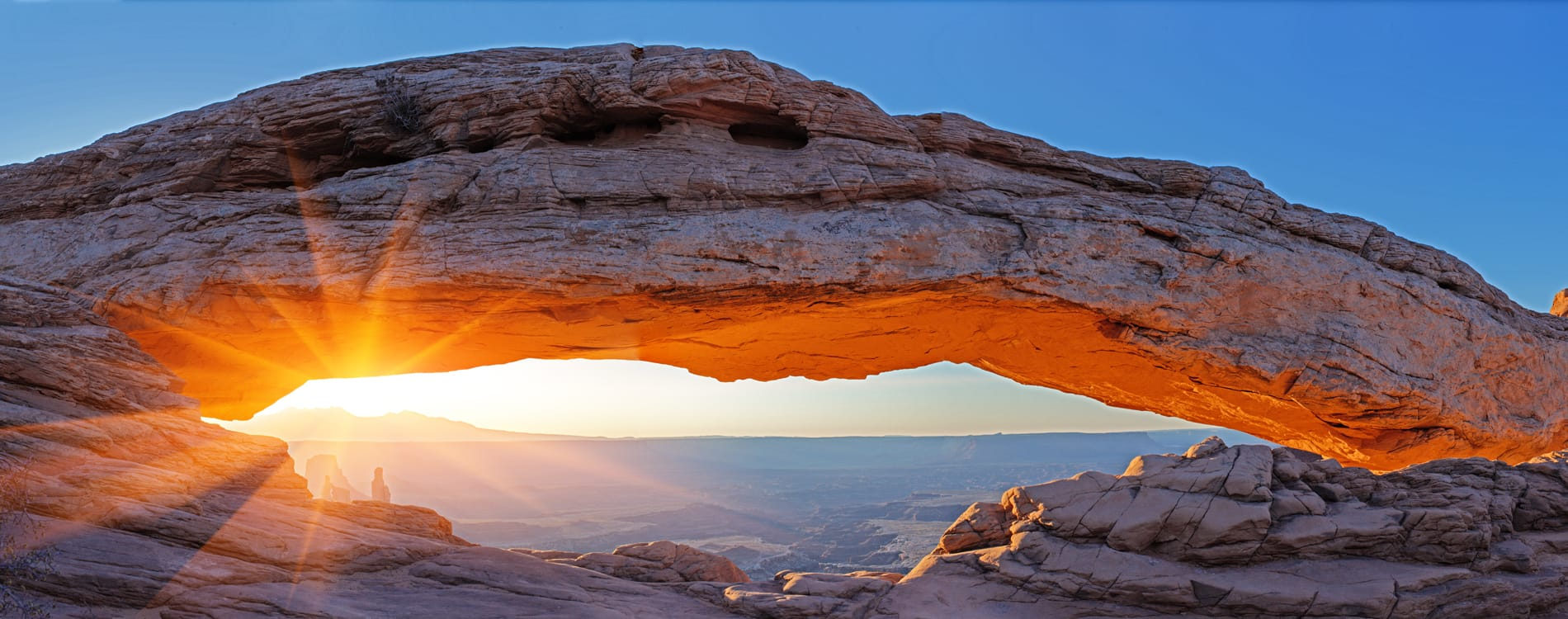 Moab, UT - Mesa Arch in Canyonlands National Park