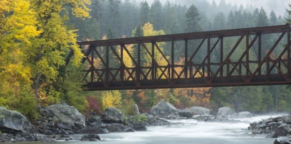 Leavenworth, WA - Fall Colors in Tumwater Canyon