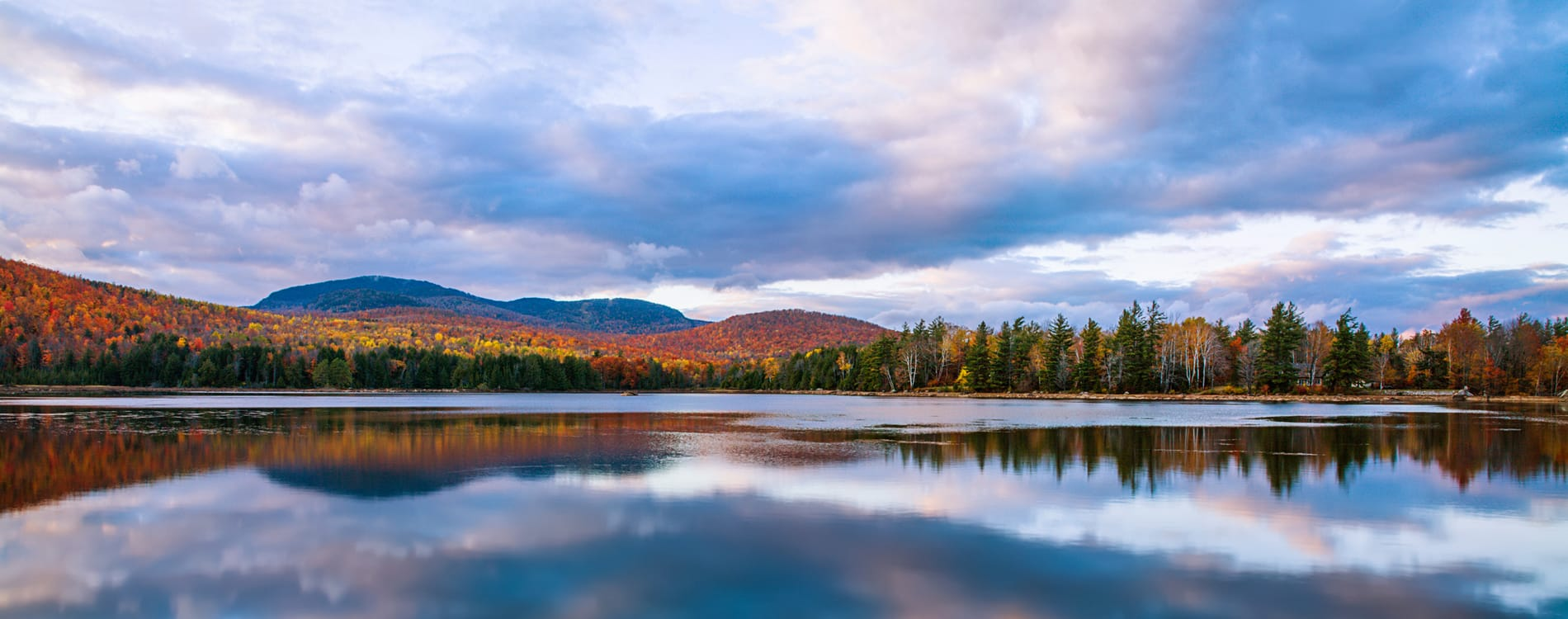 Adirondacks - Loon Lake in the Adirondack Mountains