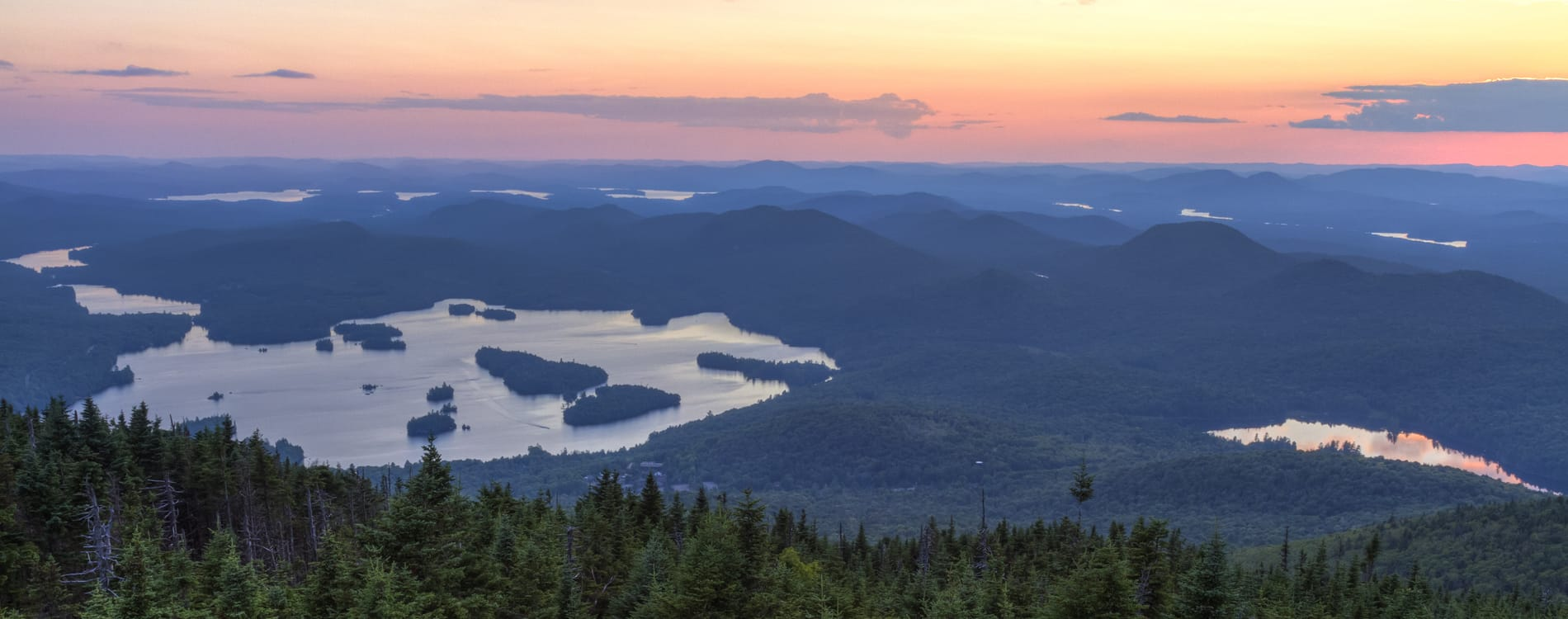 Adirondacks - View from Blue Mountain Fire Tower