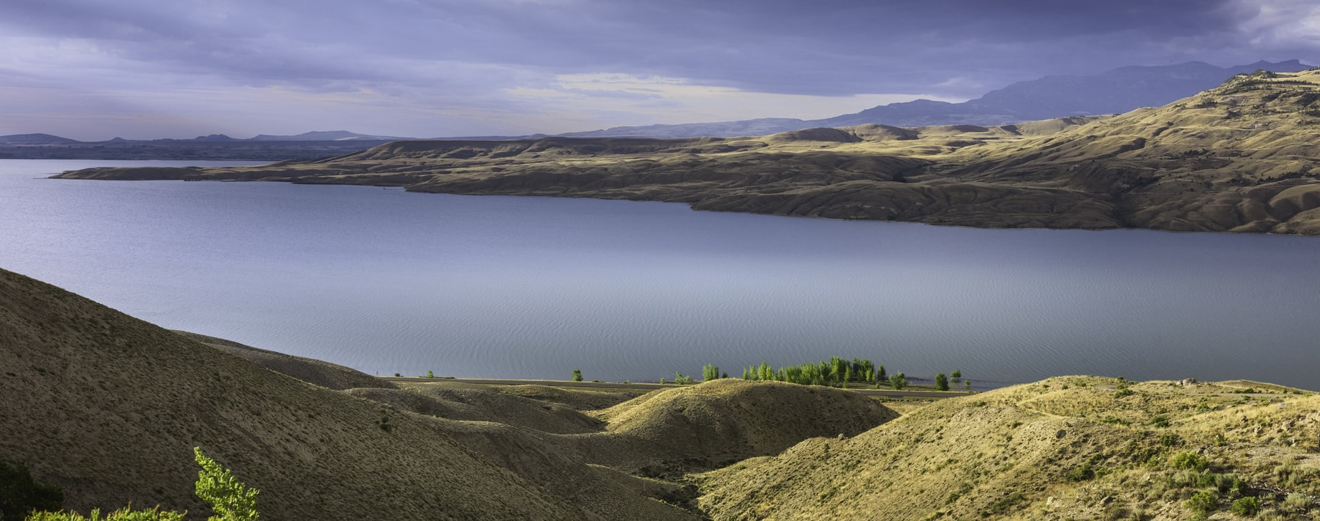 Buffalo Bill Reservoir just west of Cody, Wyoming