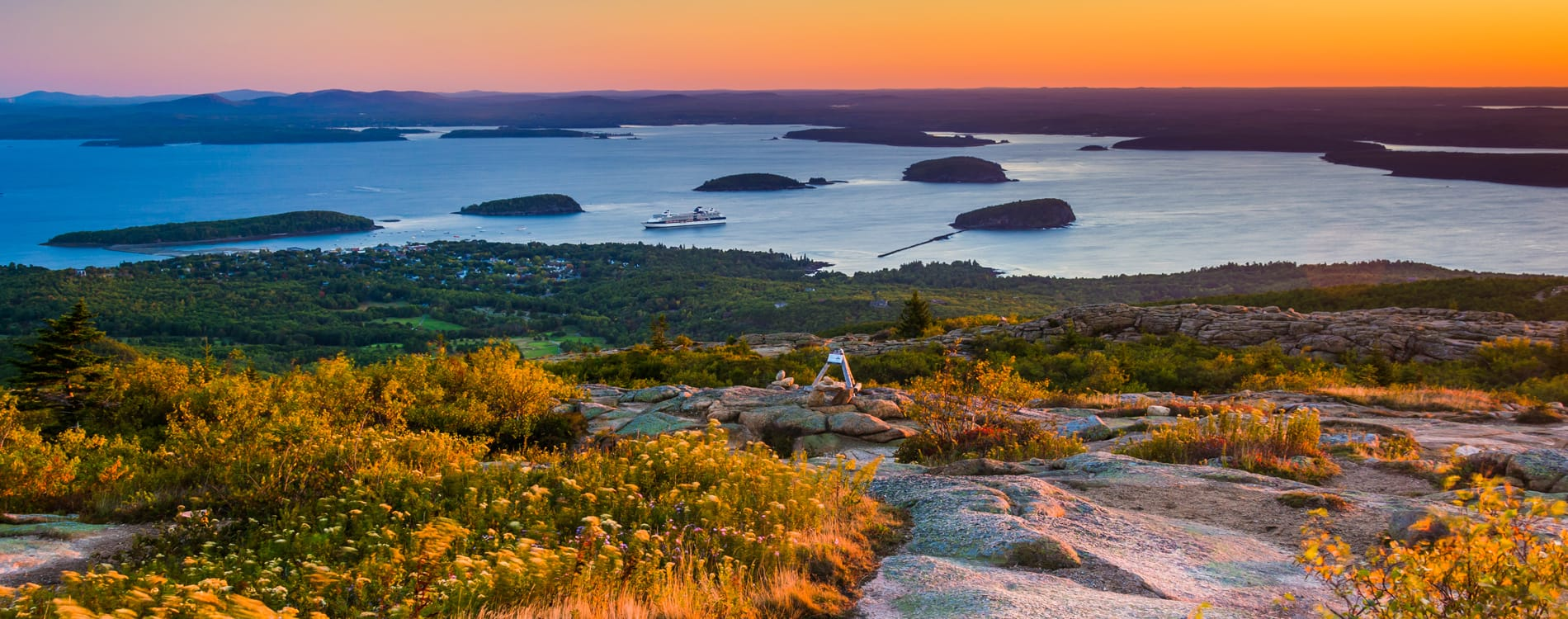 Acadia National Park - Sunrise on Cadillac Mountain
